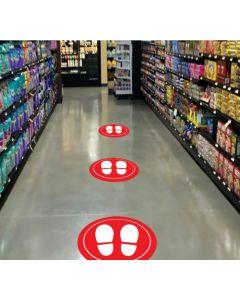 Feet Floor Graphic