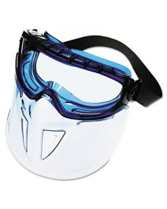 Face Shield, Blue Frame, Clear Lens