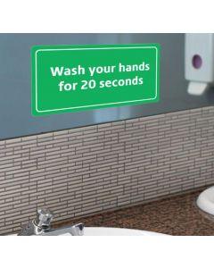 Hand Washing Graphic, Small