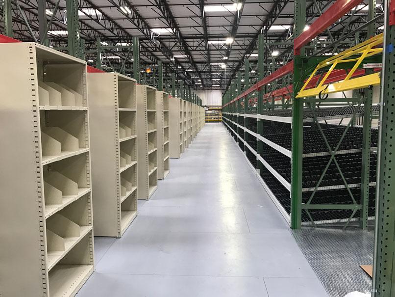 Pick-Module---shelving-carton-flow